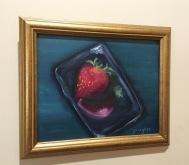 StrawberryinaSoapDish8x10oil